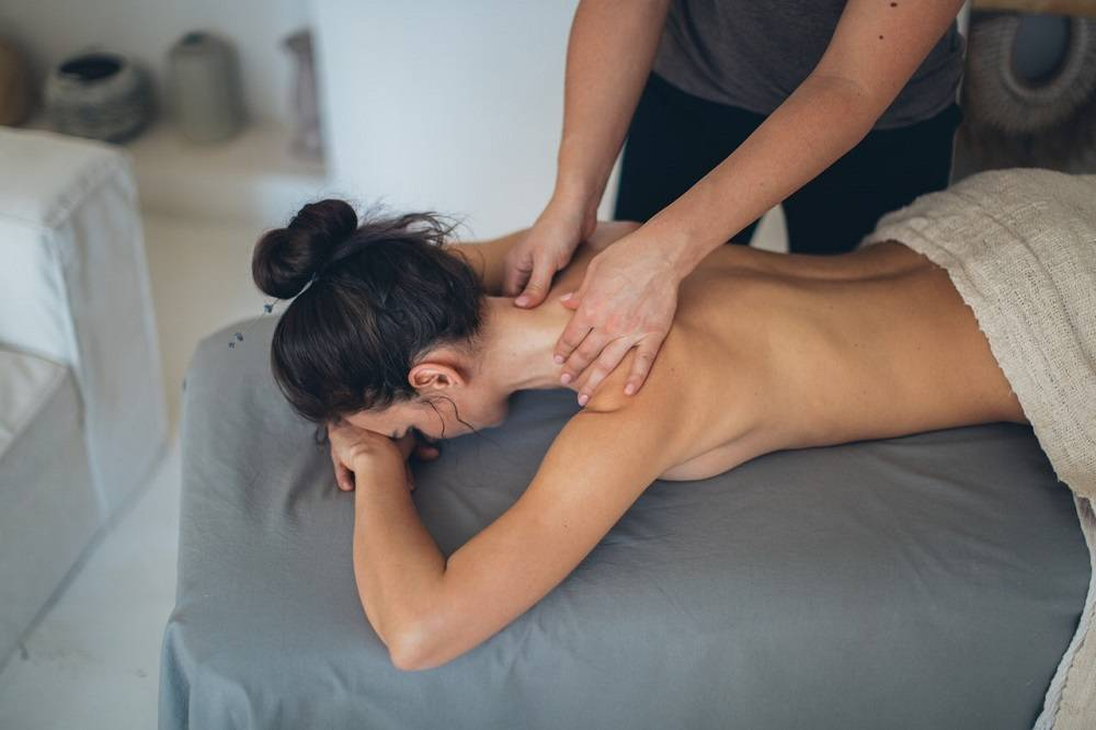 does massage release toxins